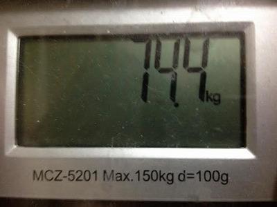 1月25日 体重