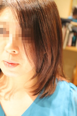 縮毛矯正 3