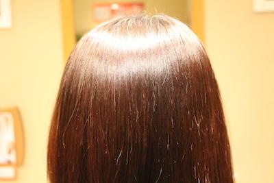 縮毛矯正 5