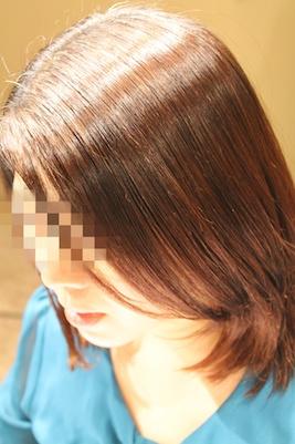 縮毛矯正 2