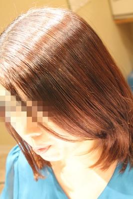 縮毛矯正 7
