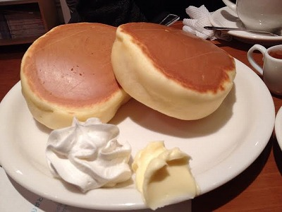 小野コーヒー パンケーキ